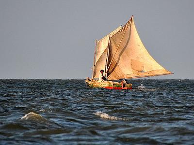 Sailing At Isla Puna - Gayaquil Ecuador