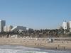 Santa Monica State Beach Seen From The Pier