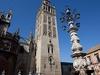 Seville Giralda Tower Front View