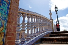 Seville Plaza De España Architectural Detail - Andalusia