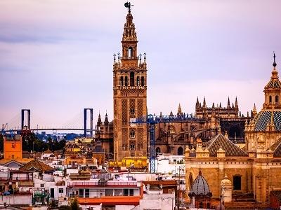 Seville Skyline Spain