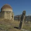 Shamakhi-Friedhof Gräber Mit Steinen Mausoleum