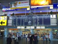 Sheremetyevo Departures Schedule Table