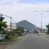 One Of The Main Roads In Singkawang