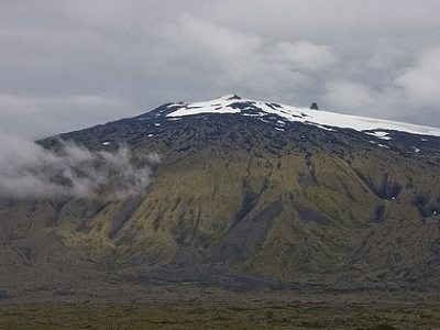 Snaefellsjokull On Top