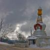 Snow Storm Over Pele La (Bhutan)