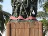 Statue Of Freedom In Bamako