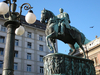 Statue Of Prince Mihailo III - Serbia And Montenegro