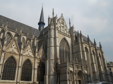 St Michael And Gudula Cathedral Side View