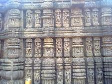 Stone Art Work In Sun Temple