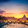 St. Peter's Cathedral - Vatican City - Night View