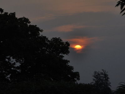 Sunset At Haldwani