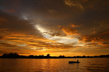 Sunset At Kota Kinabalu