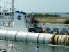 The Rocket Booster Recovery Ship