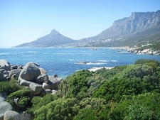 Table Mountain From Camps Bay SA Cape Town