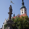 Church And Statue Of Roland