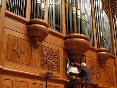The Pipe Organ In Taiwan's National Concert Hall