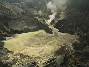 Volcano and Hot Water Tour Bandung Photos