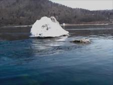 The Angara River At Lake Baikal