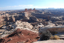 The Maze Overlook Campground - Canyonlands - Utah - USA