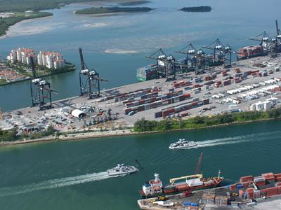 The Port Of Miami