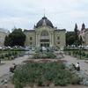 The Square In Front Of The Chernivtsi Theatre.