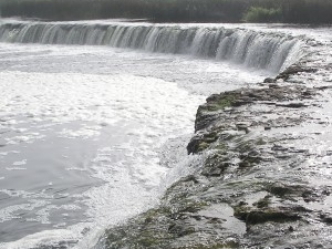 The Venta Waterfall