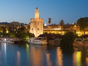 The Torre del Oro Tower