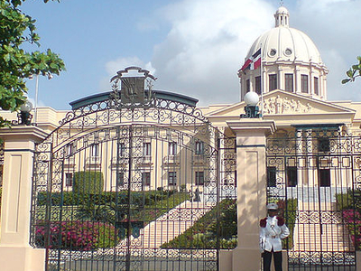 National Palace In Santo Domingo