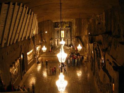 Tourist Attractions In Wieliczka Salt Mine