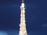 Metallic tower of Fourvière