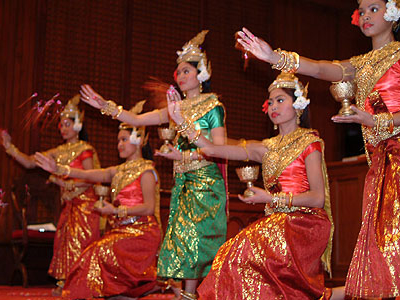 Traditional Khmer Dance In Cambodia