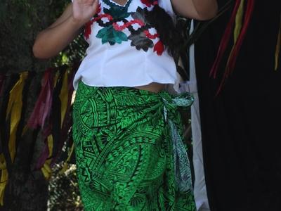 Tuvaluan Dance At Pasifika Festival