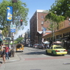 The Northern End Of Telegraph Avenue In Berkeley