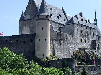 Vianden Castle In Luxembourg