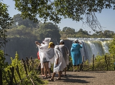 Victoria Falls From Danger Point - Zimbabwe