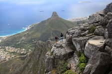 View Cape Town SA From Table Mountain