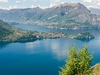 View Lake Como In Lombardy