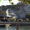 View Of Downtown Tiburon Near The Ferry Docks.