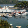 View Of The Harbour Of Skiathos Town
