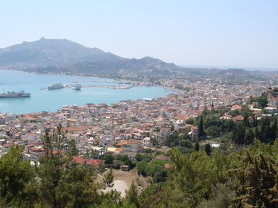 View Of Zakynthos City