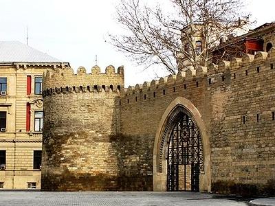 Walled City Of Baku.