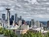 WA Space Needle & Seattle Skyscrapers