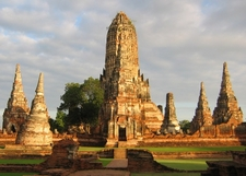 Wat Chaiwatthanaram, Late Afternoon