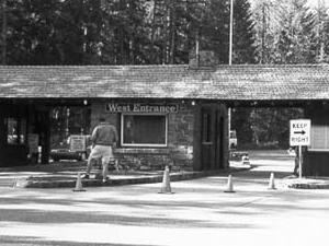 West Entrance Station