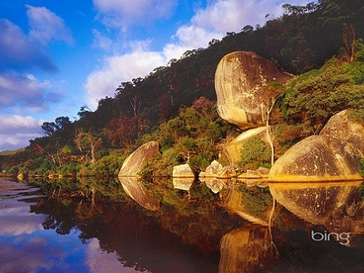 Whale Rock - Tidal River - Victoria AS