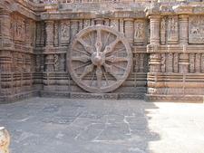 Wheels Konark Temple Orissa