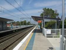 Woonona Railway Station Platform