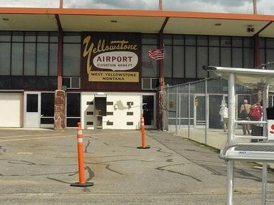 Yellowstone Airport - Montana - USA