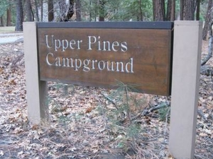 Yosemite Upper Pines campground